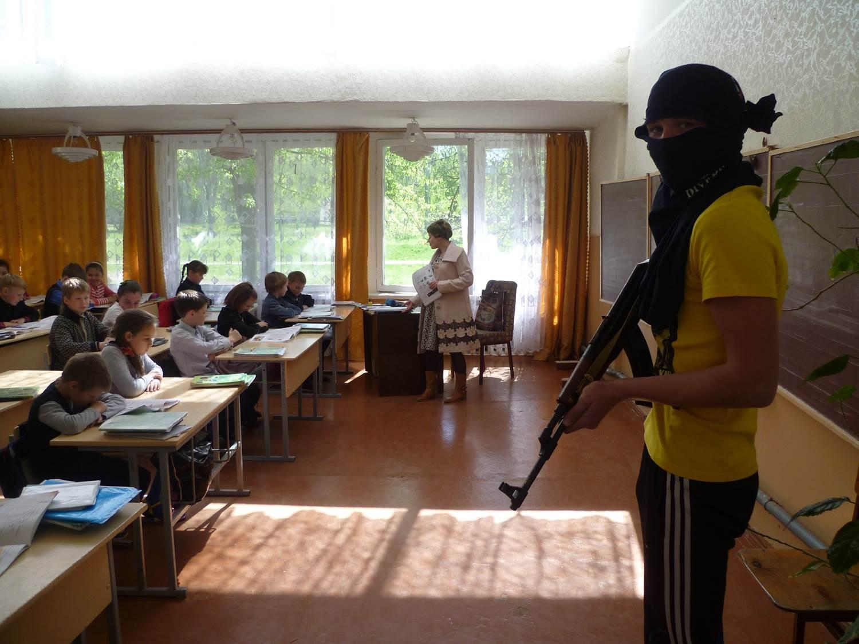 террористы в школе